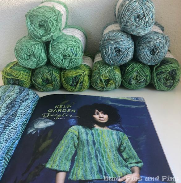 Scheepjes Kelp Garden Sweater | Mud, Pies and Pins
