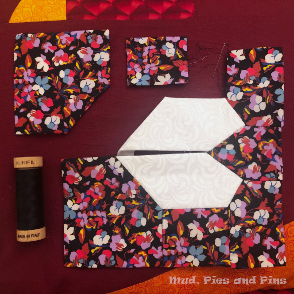 The Countdown Quilt EPP | Mud, Pies and Pins
