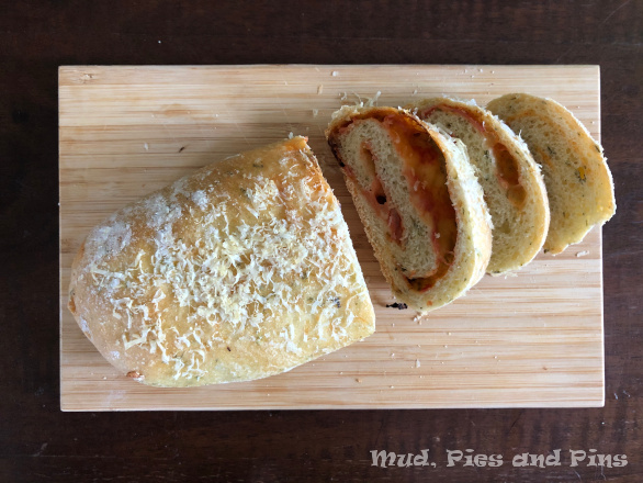 Pizza bread | Mud, Pies and Pins