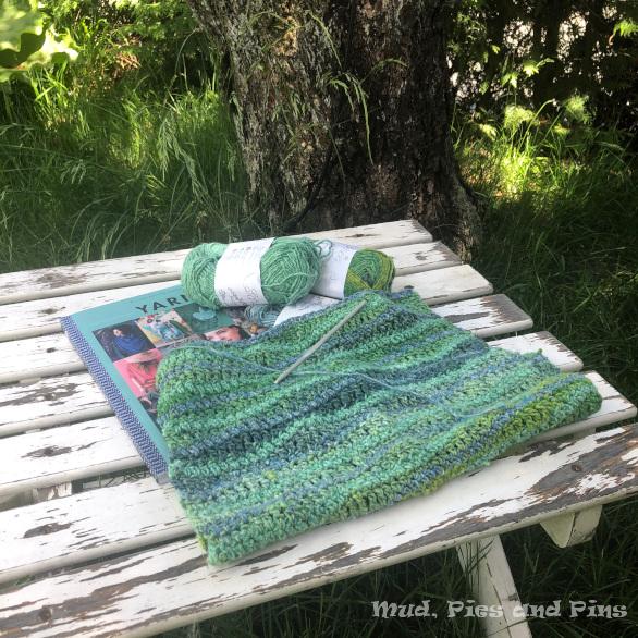Kelp Garden crochet sweater | Mud, Pies and Pins