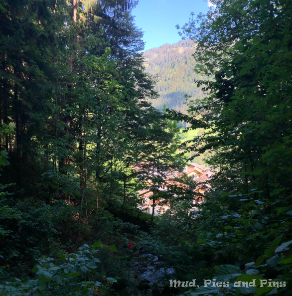 In the mountains | Mud, Pies and Pins