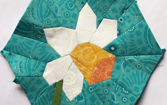 The EPP Daffodil Block Pattern